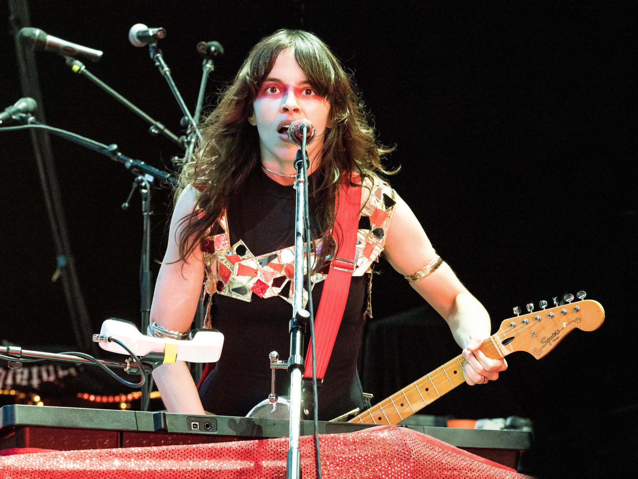 Le Butcherettes       // 2019-09-06 //   Michigan Lottery Amphitheatre At Freedom Hill    -  Sterling Heights, MI // Photos by  Brooke Elizabeth