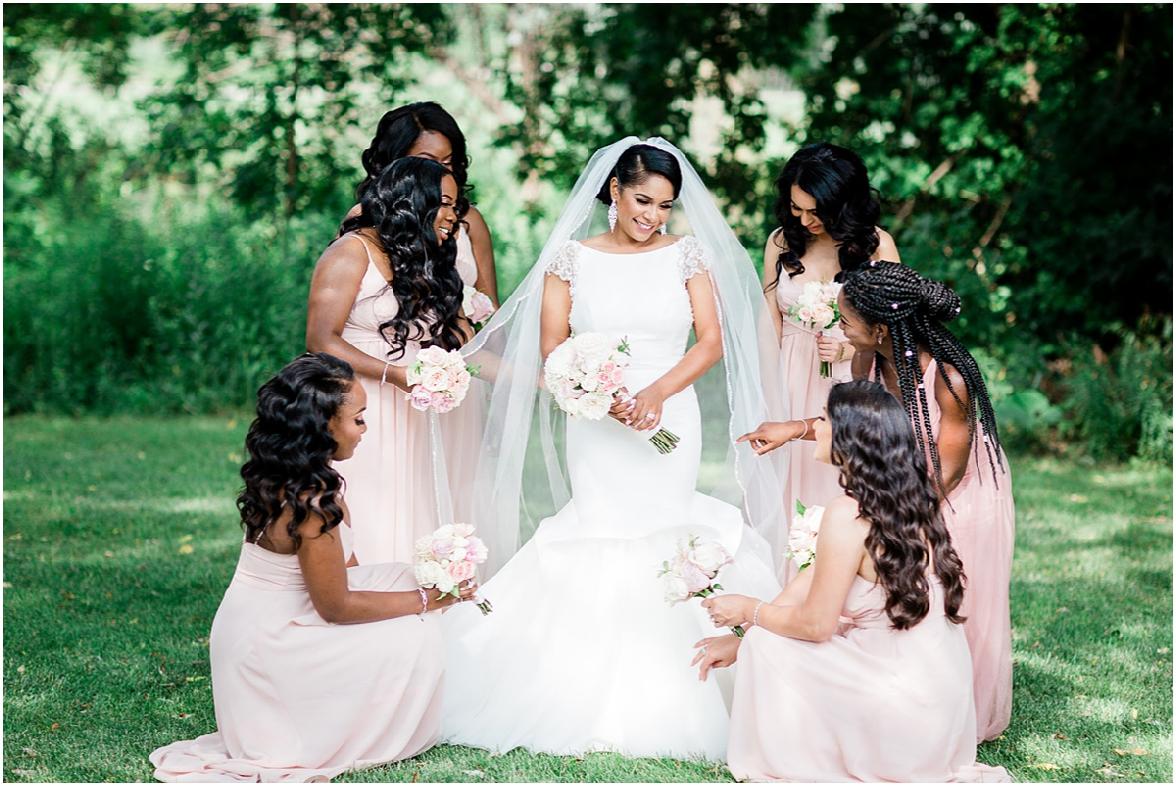 brides maids and brides