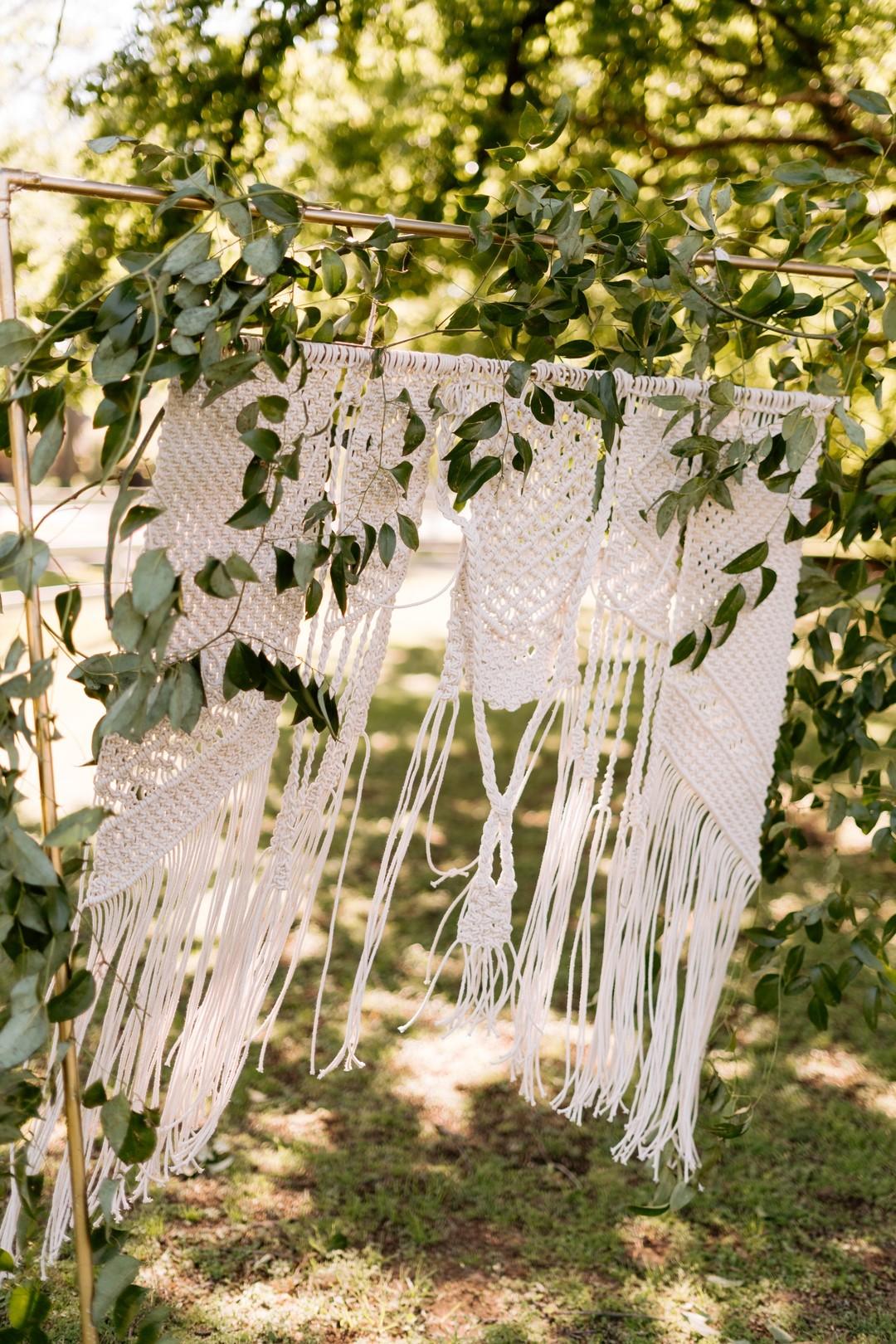Wedding detail knit