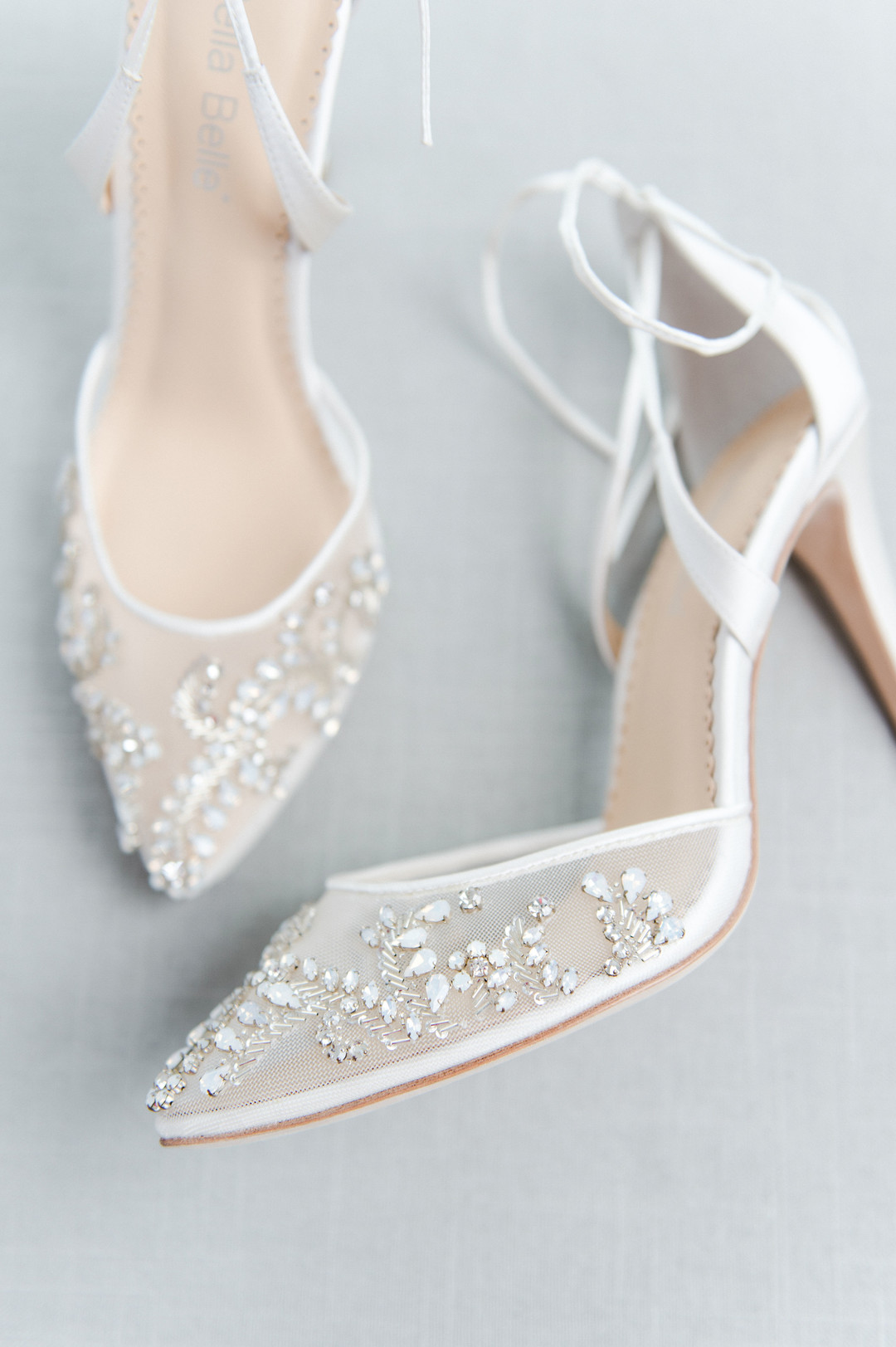 wedding shoes bella bella white with detailing