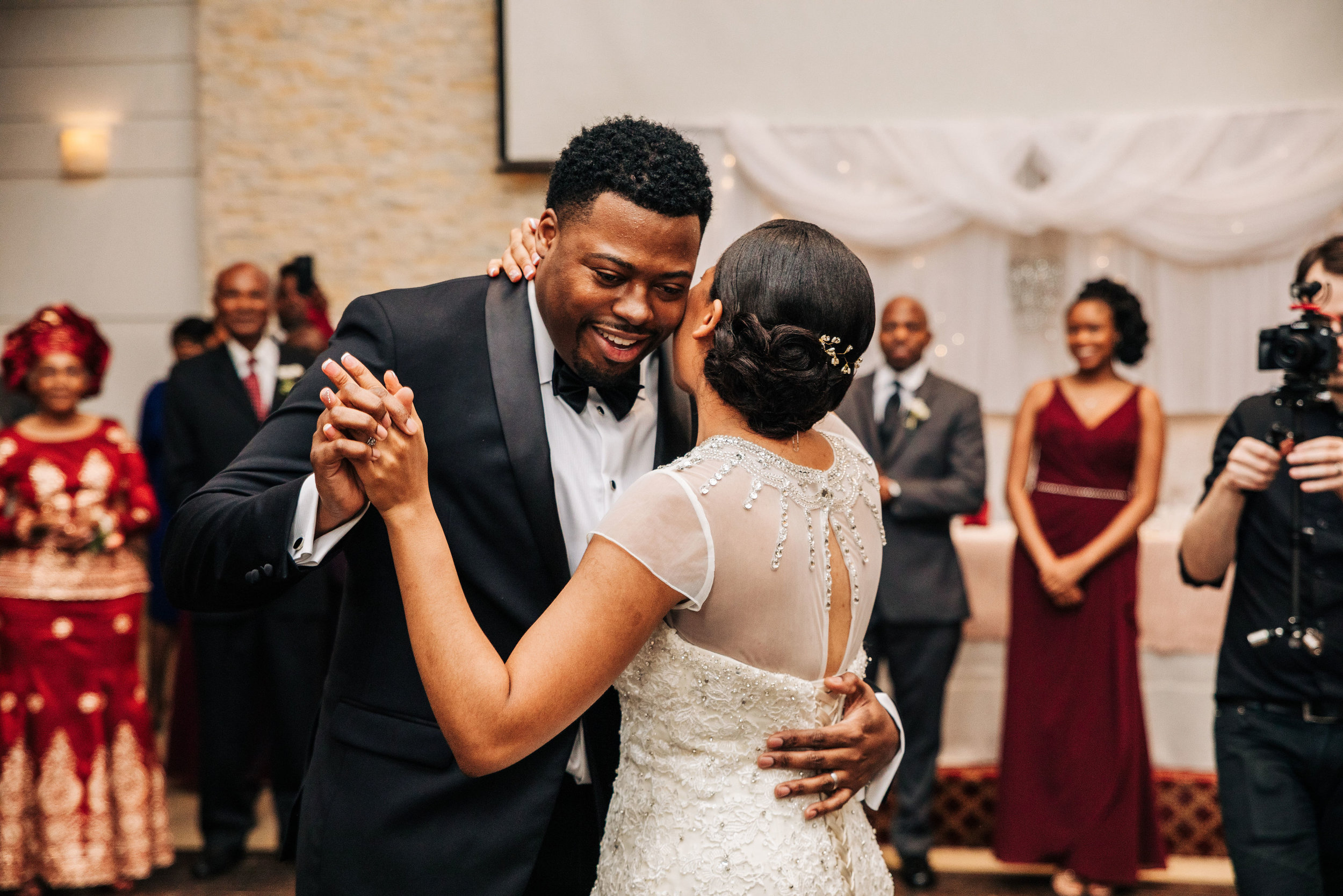 first dance black couple