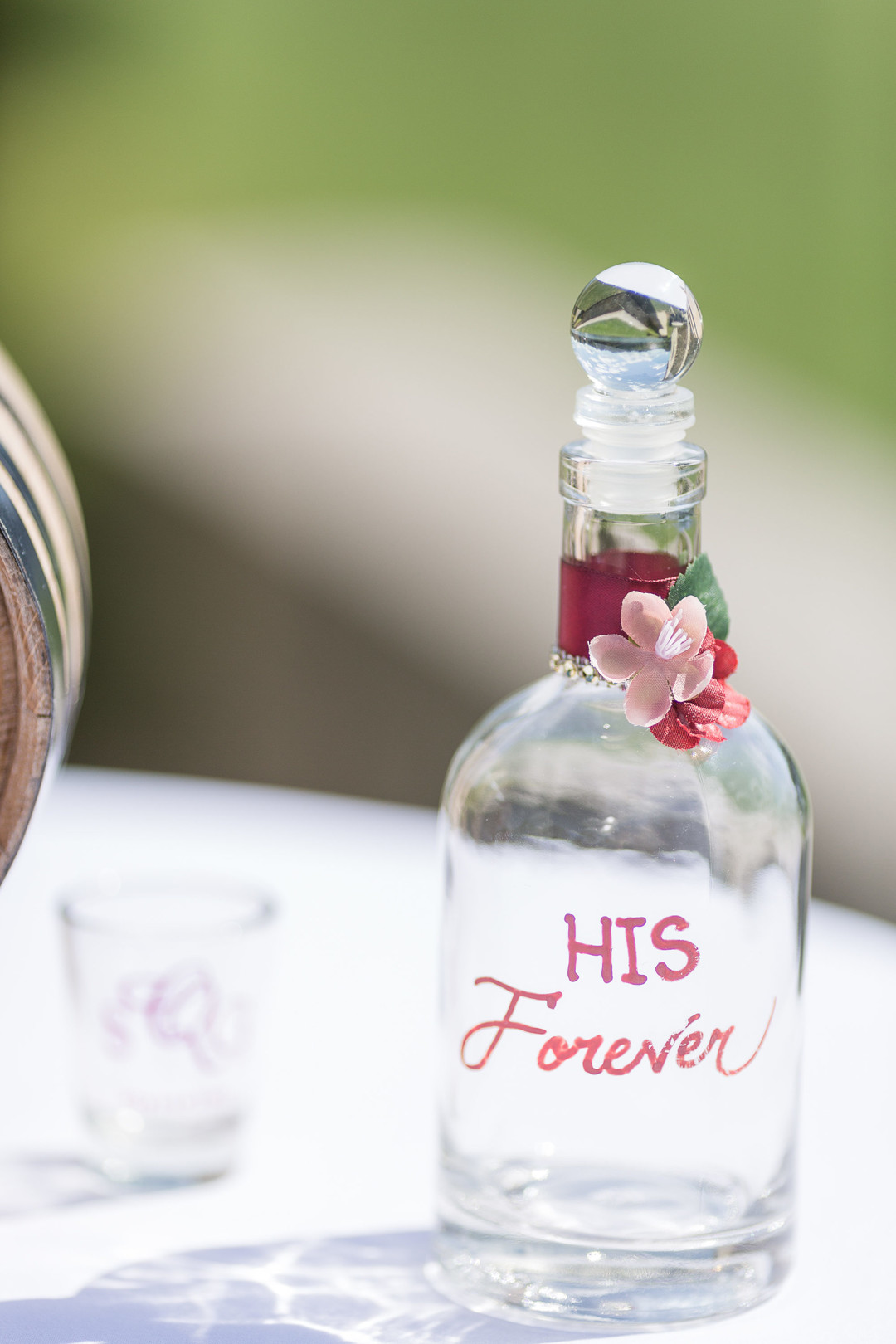 his forever wedding decoration