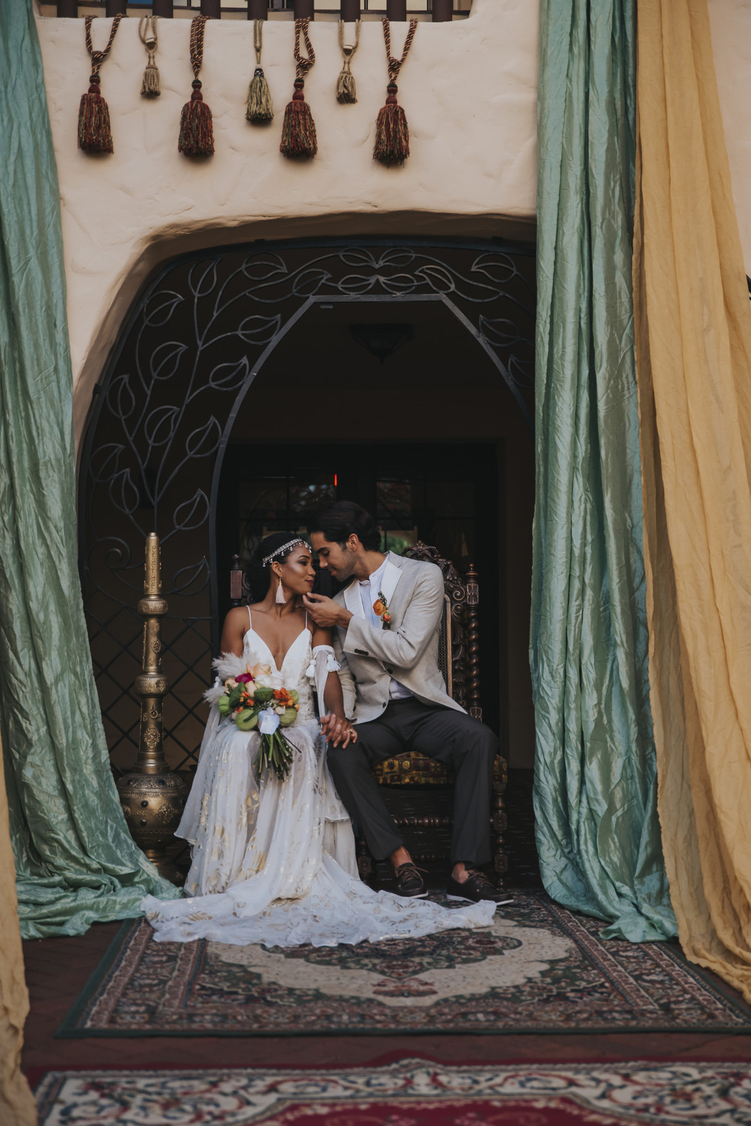 middle eastern wedding editorial