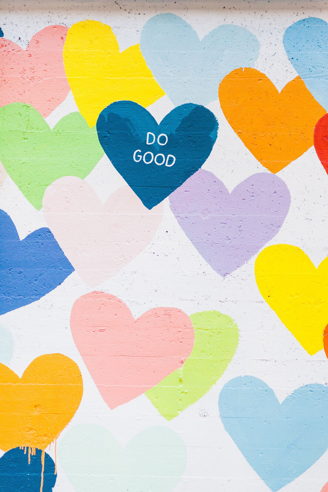 Do good heart wall