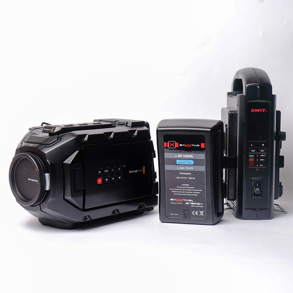 Blackmagic Design Ursa Mini 4k Digital Cinema Camera Ef Mount Pixity Buy Sell Or Trade In Used Cameras Lenses