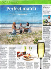 GOLD COAST BULLETIN - Perfect Match - Review of our cook book PAIRED