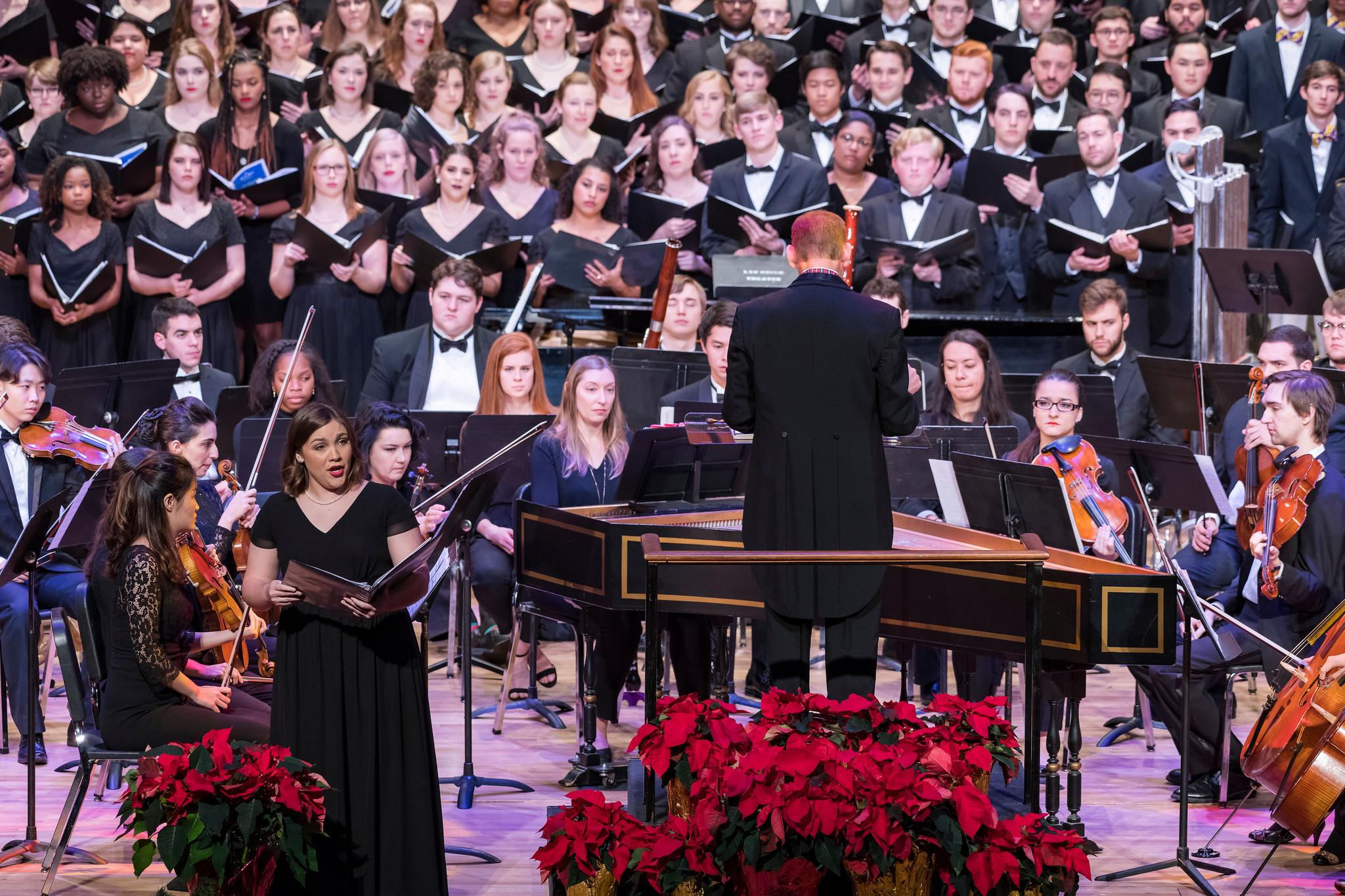 Soprano Soloist in  Handel's Messiah  Excerpt with LSU Symphony