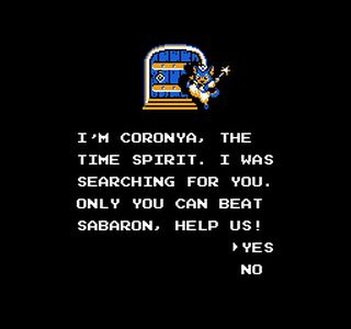 Before Chrono Trigger… - Travel through time with the help of the Time Spirit, Coronya