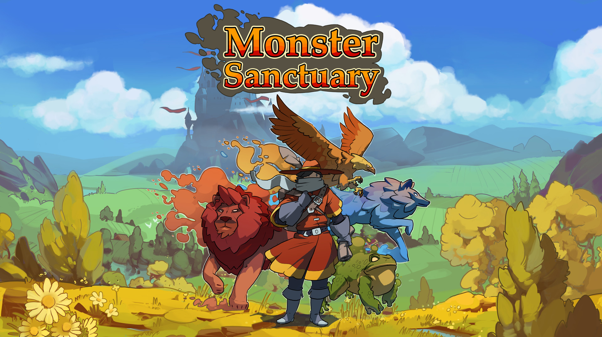 Monster Sanctuary - Everyone's favorite Pokemon/Metroidvania mashup is available to play!