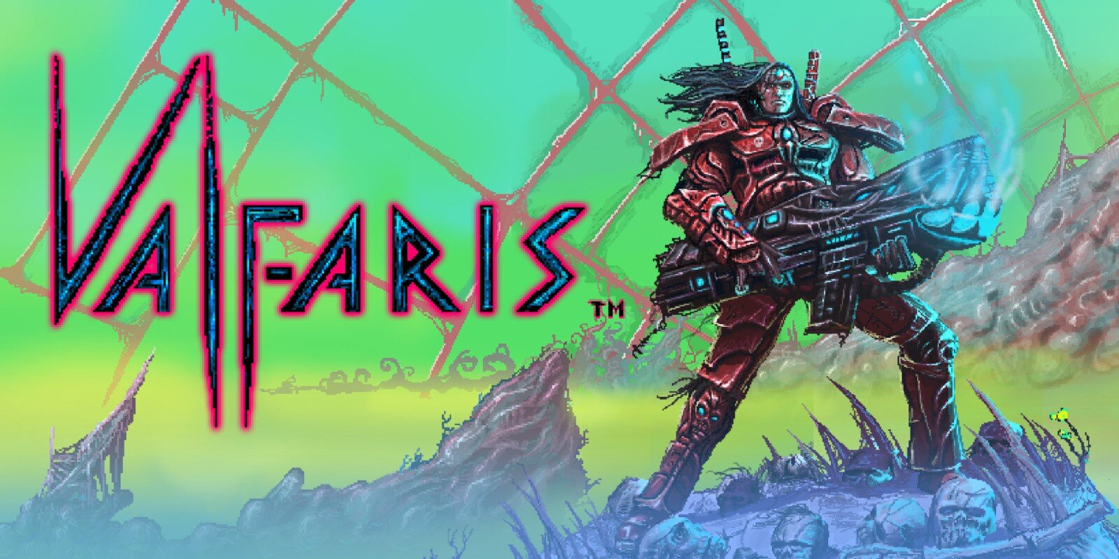 Valfaris - Sci-fi Metal on Pixel action from developer Steel Mantis!