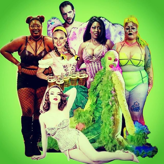 Posted @withrepost • @gillsgillsgillsshow The gorgeous October 5th Gills Gills Gills lineup. Now go buy tickets! Guaranteed seating tickets will sell out in advance. DM me for the secret earlybird discount code good through 9/28. #gillsgillsgills #burlesque #eastvillage