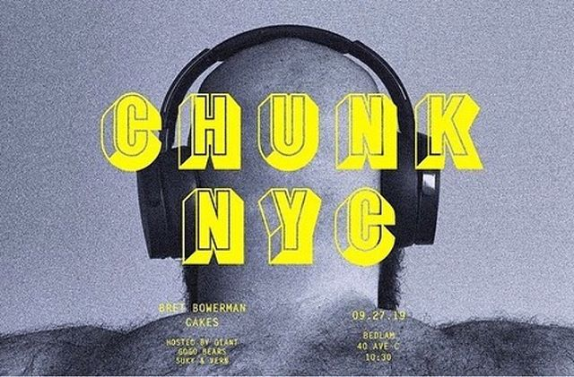 Posted @withrepost • @willsheridanworld Chunk is Friday  At @bedlamnyc  Head over to @chunk_party_ bio for $10 tickets!  DJs @thckrtanker x @bretbowerman 💛#GIANT #chunkparty