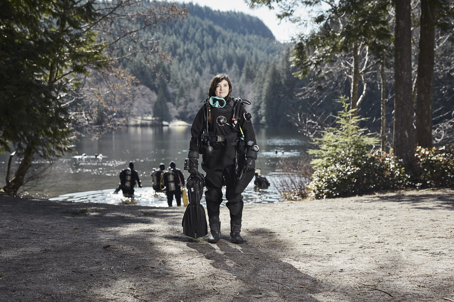 Alice Lake Cleanup