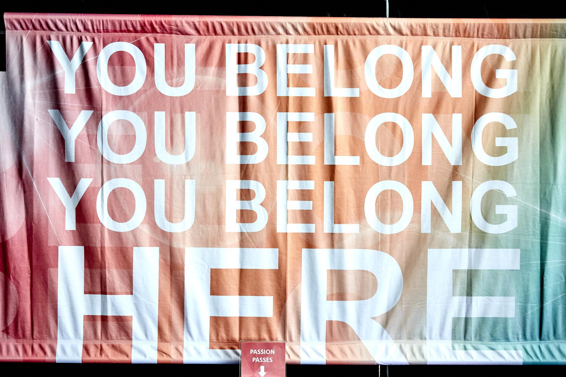"""You Belong Here"""