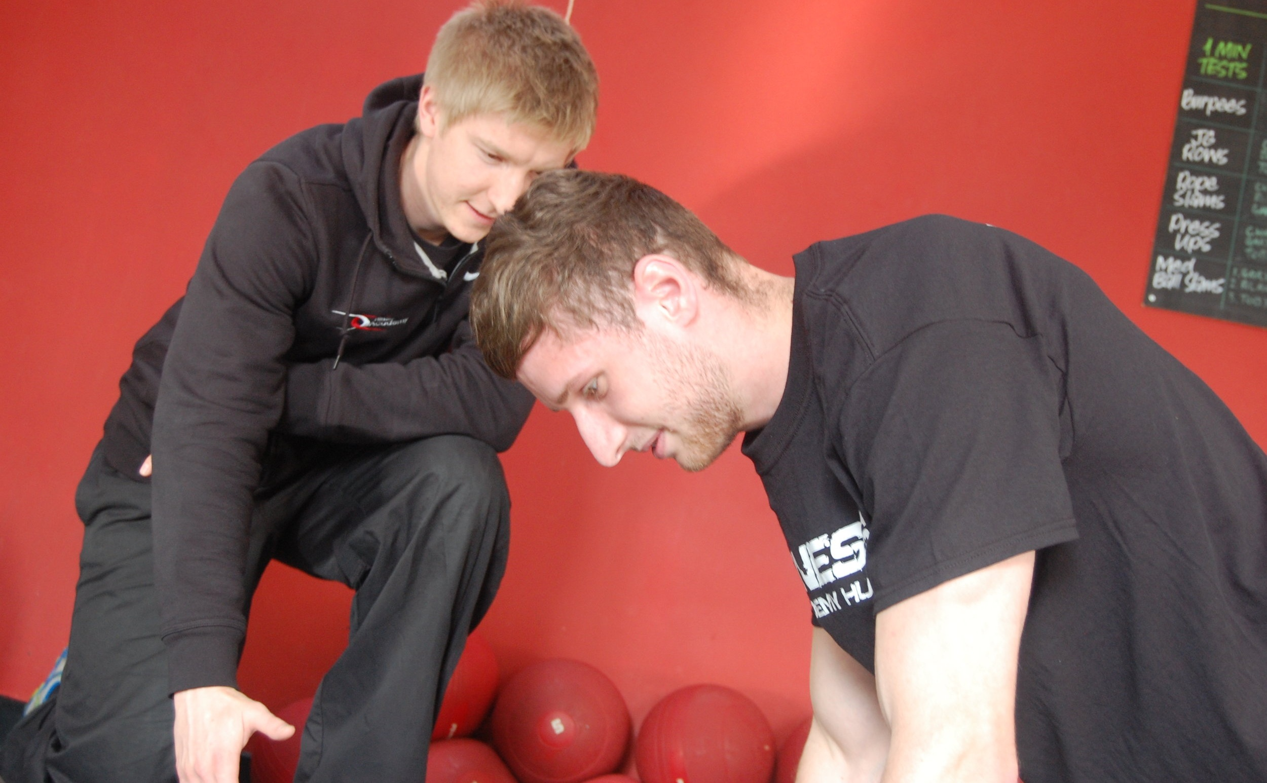 One of my Personal Training Clients