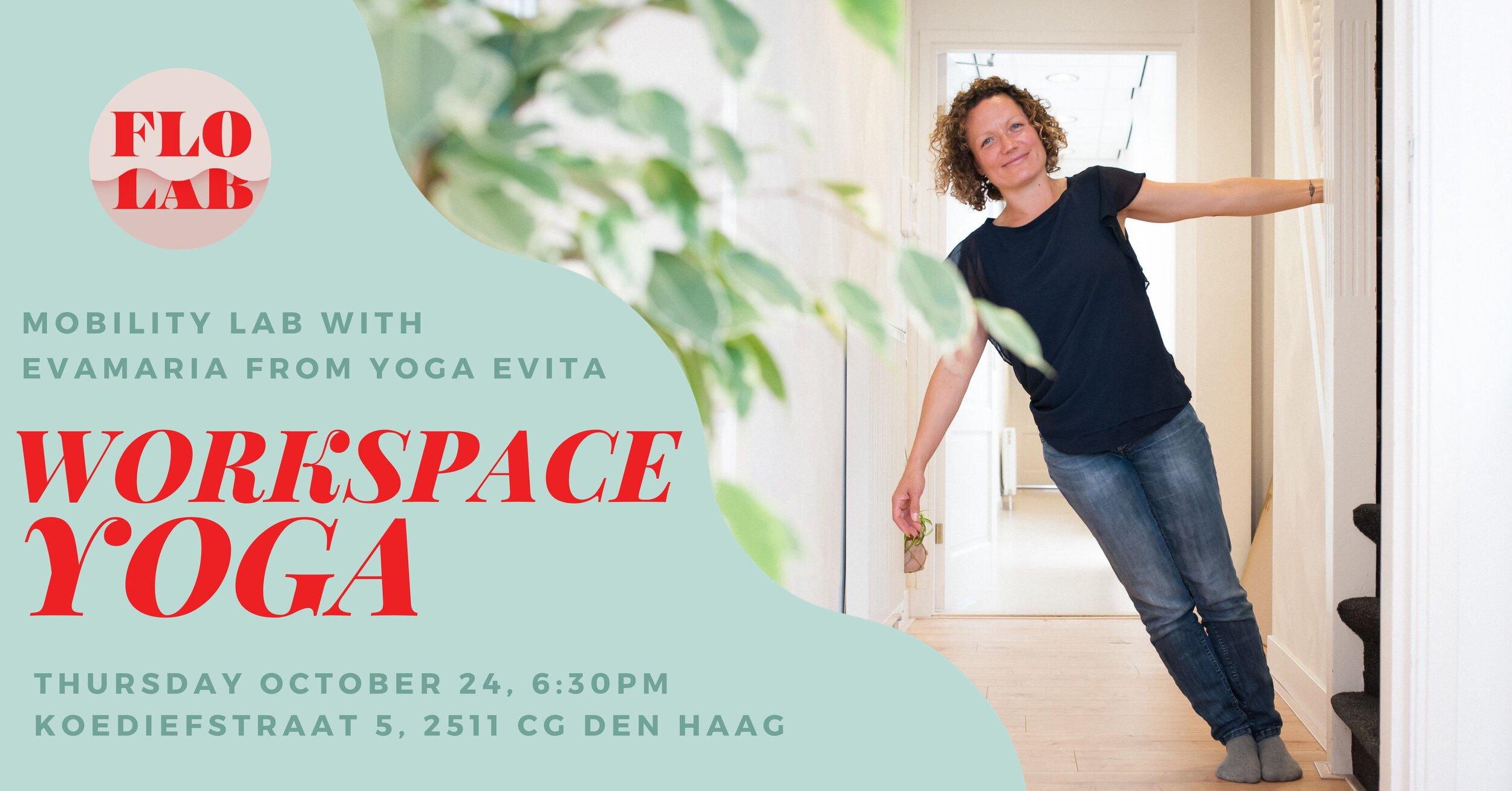 Workspace Yoga with Evamaria