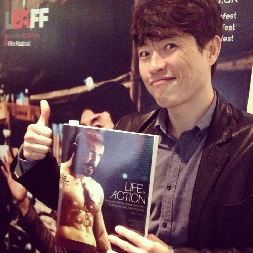 Director Ryoo Seung-wan with Life of Action