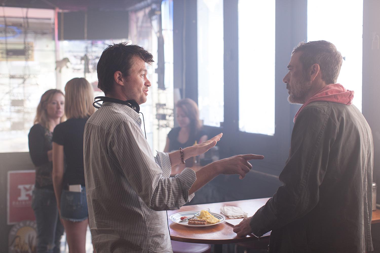 Director-Scott-Mann-and-Jeffrey-Dean-Morgan-filming-Heist.jpg