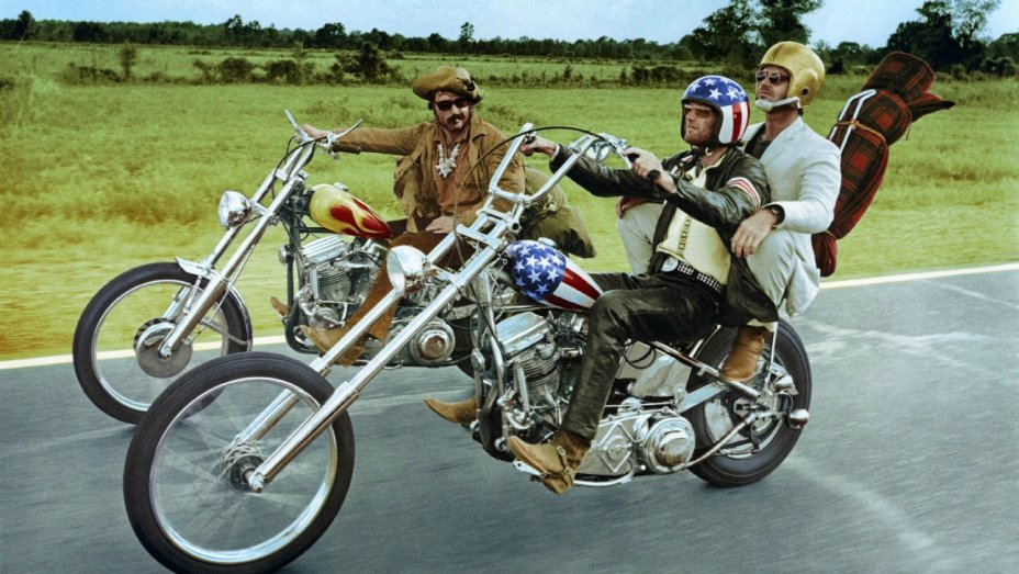 The classic Easy Rider features among the curated list