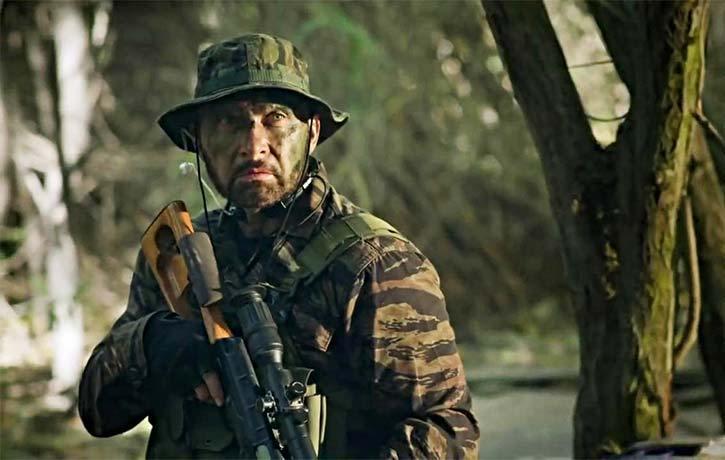 Dominiquie Vandenberg in  The Mercenary