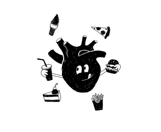 Heart Food - Art by Jefferey Swanda