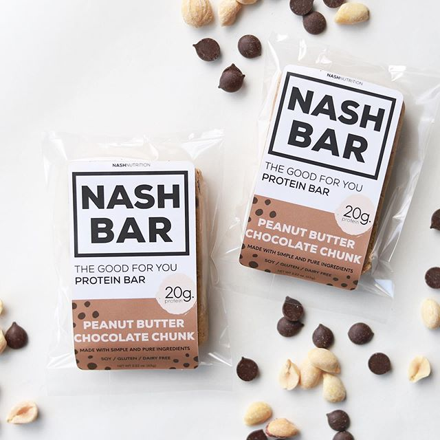 In case you haven't heard, Peanut Butter Chocolate Chip is here! ✨ It's like your favorite chocolate chip cookie dough, but better. Clean, simple and pure ingredients + 20 grams of high quality and easy to digest protein. Can it get any better?! - @nashnutrition #mynashbar