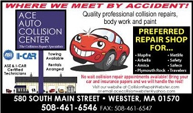 - 580 South Main StreetWebster, MA 01570508-461-6546(Email Ace Collision)