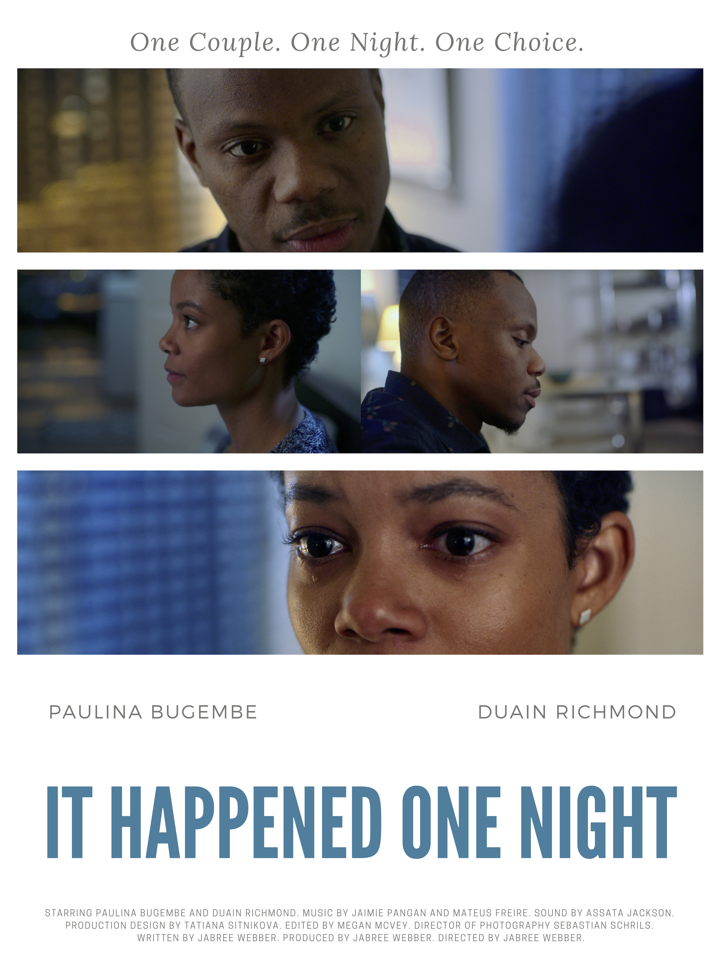 STATUS: Post-Production - Written, Directed, and Produced by Jabree Webber