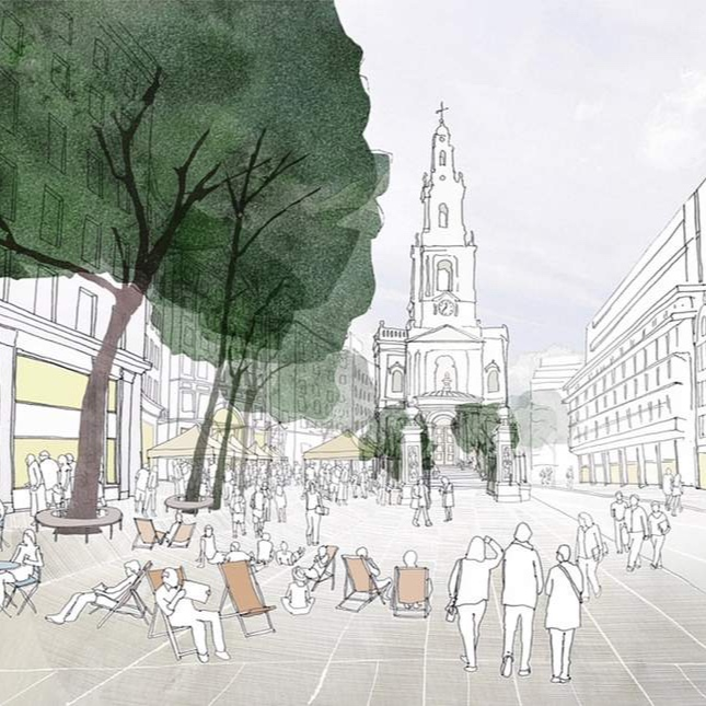 in our backyard: pedestrianisation of the strand