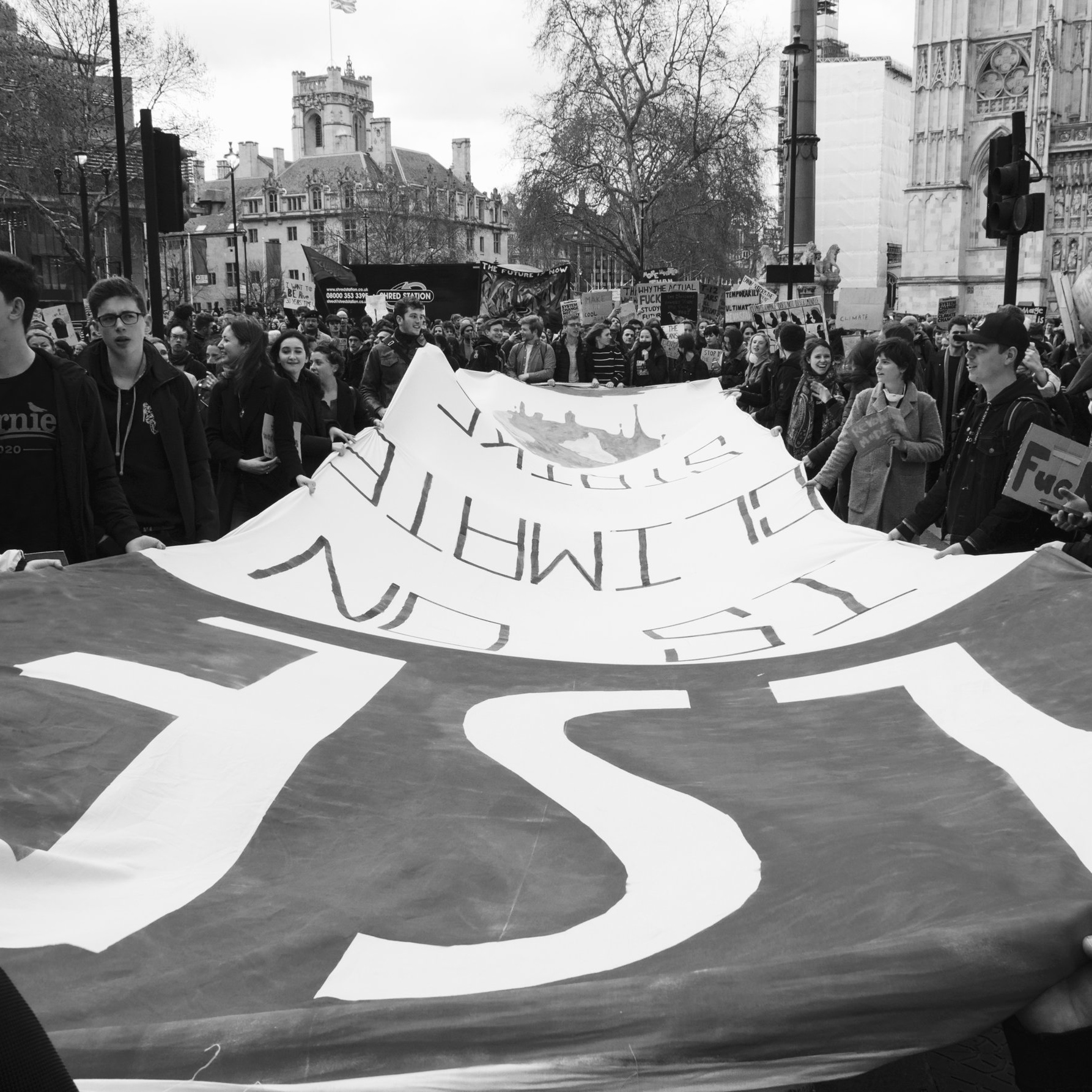LSE's climate strike: in words, pictures and music