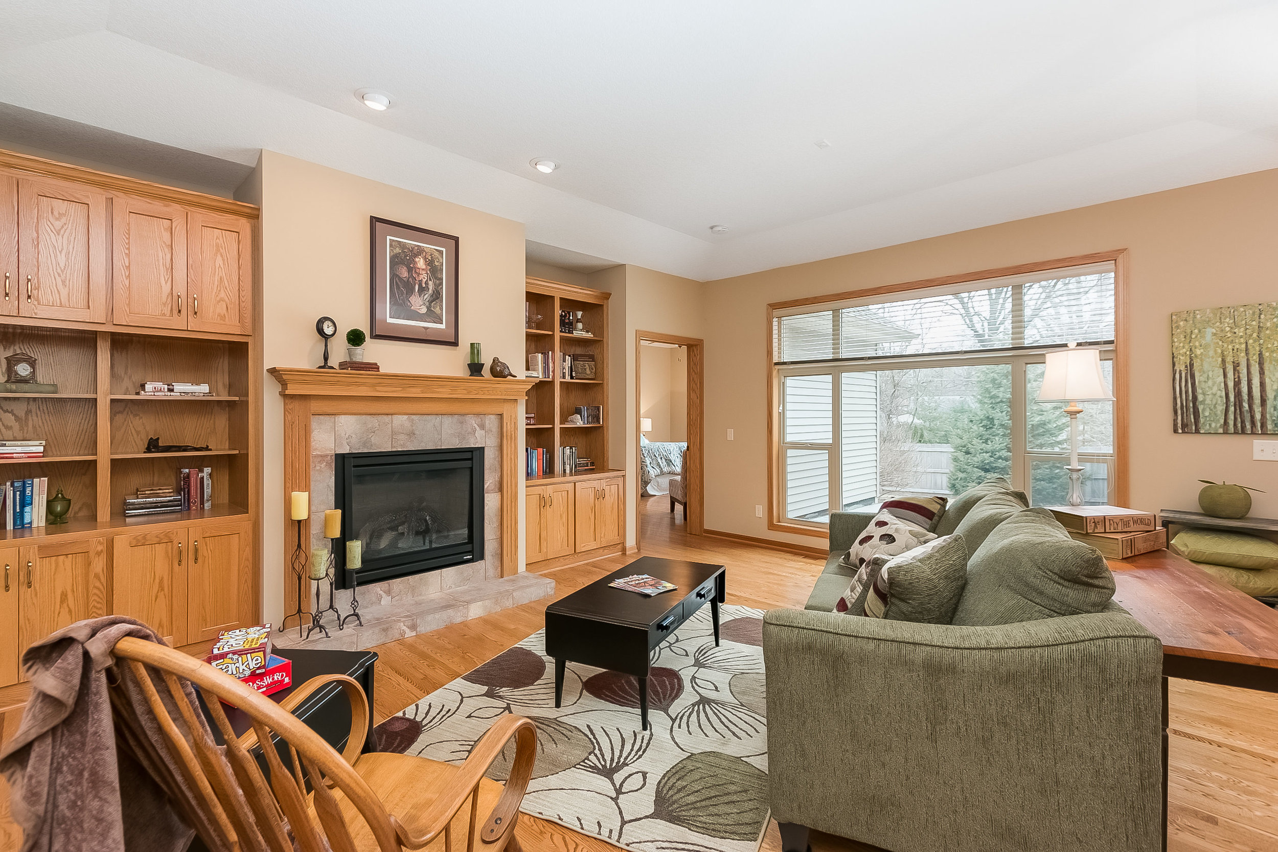 Staged home in Coon Rapids