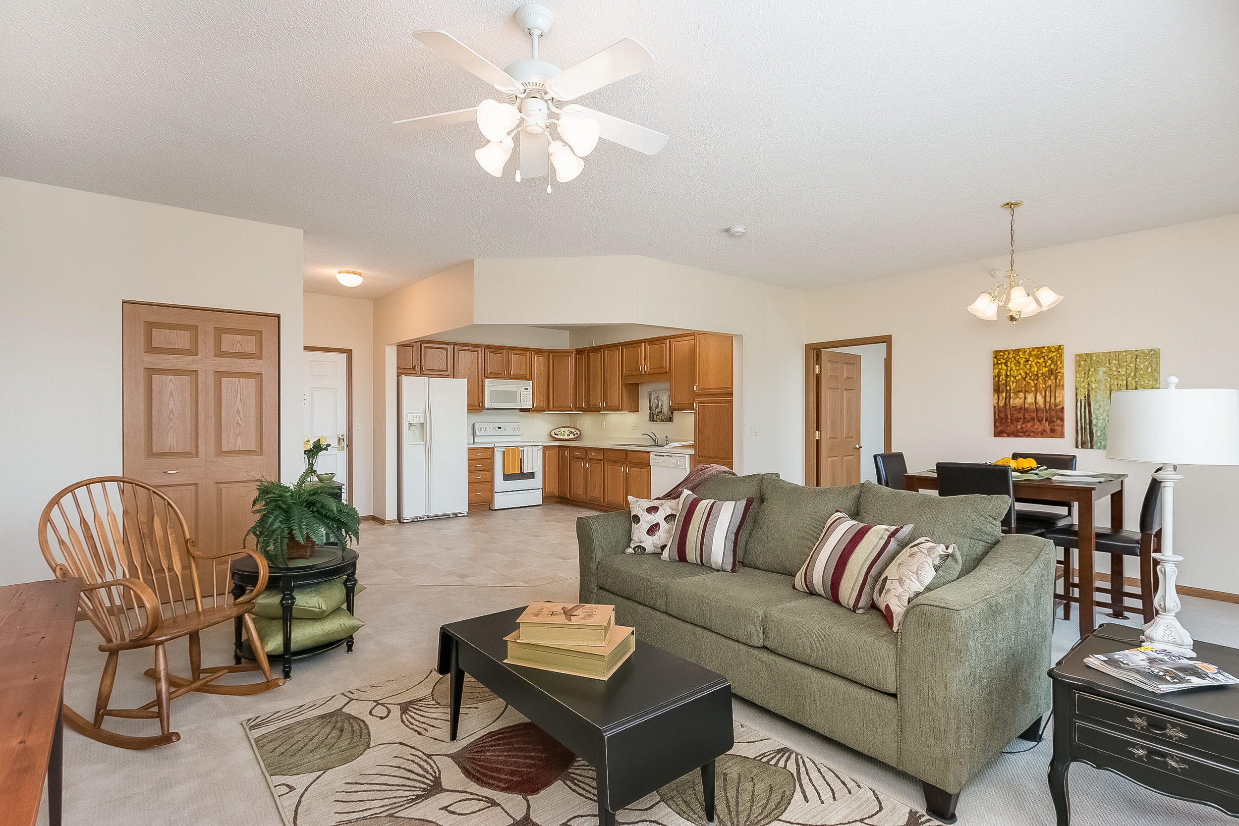 Staged Applewood home ready for sale