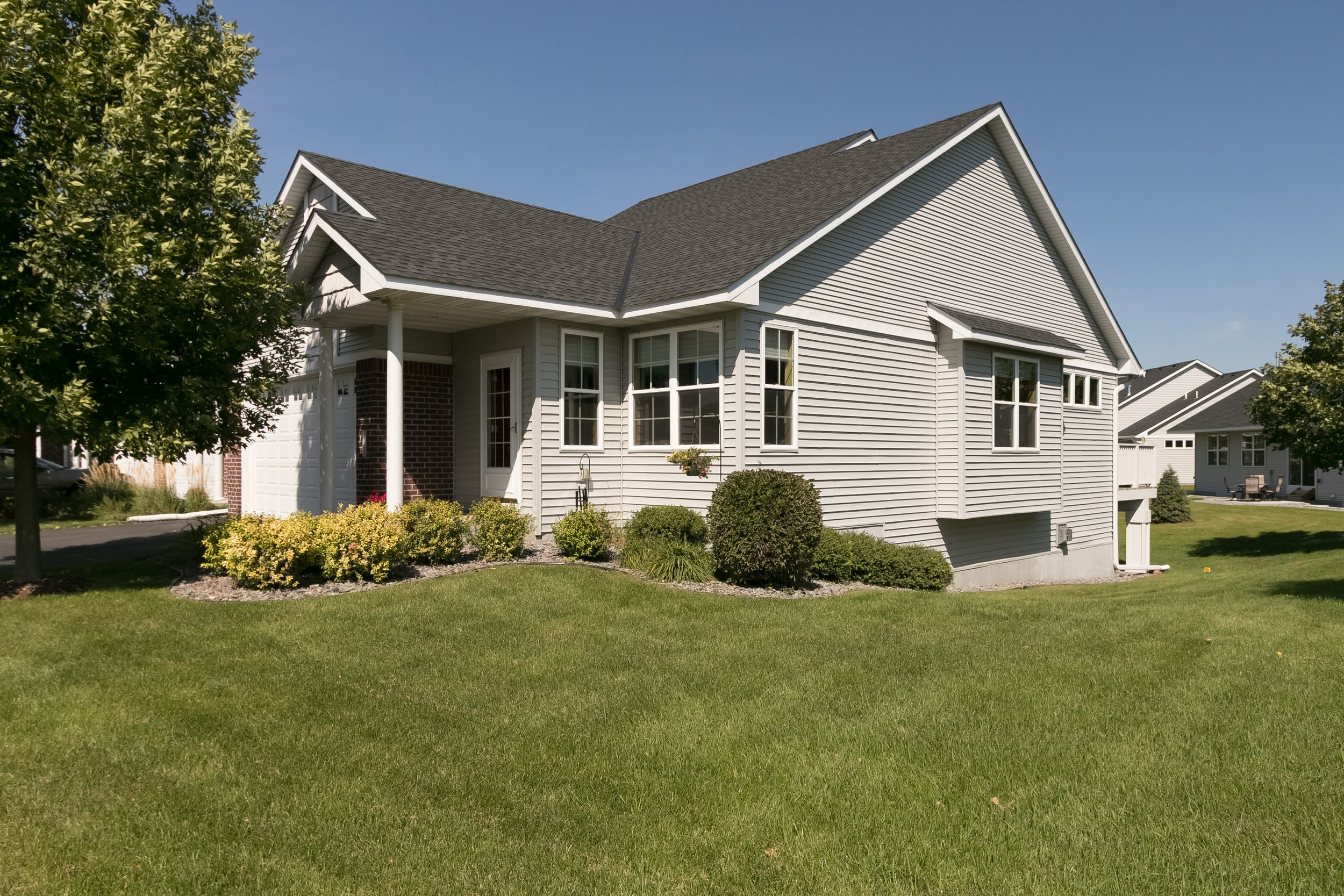 Townhomes offer 100% ownership but without the usual maintenance and upkeep required by a traditional single family home.