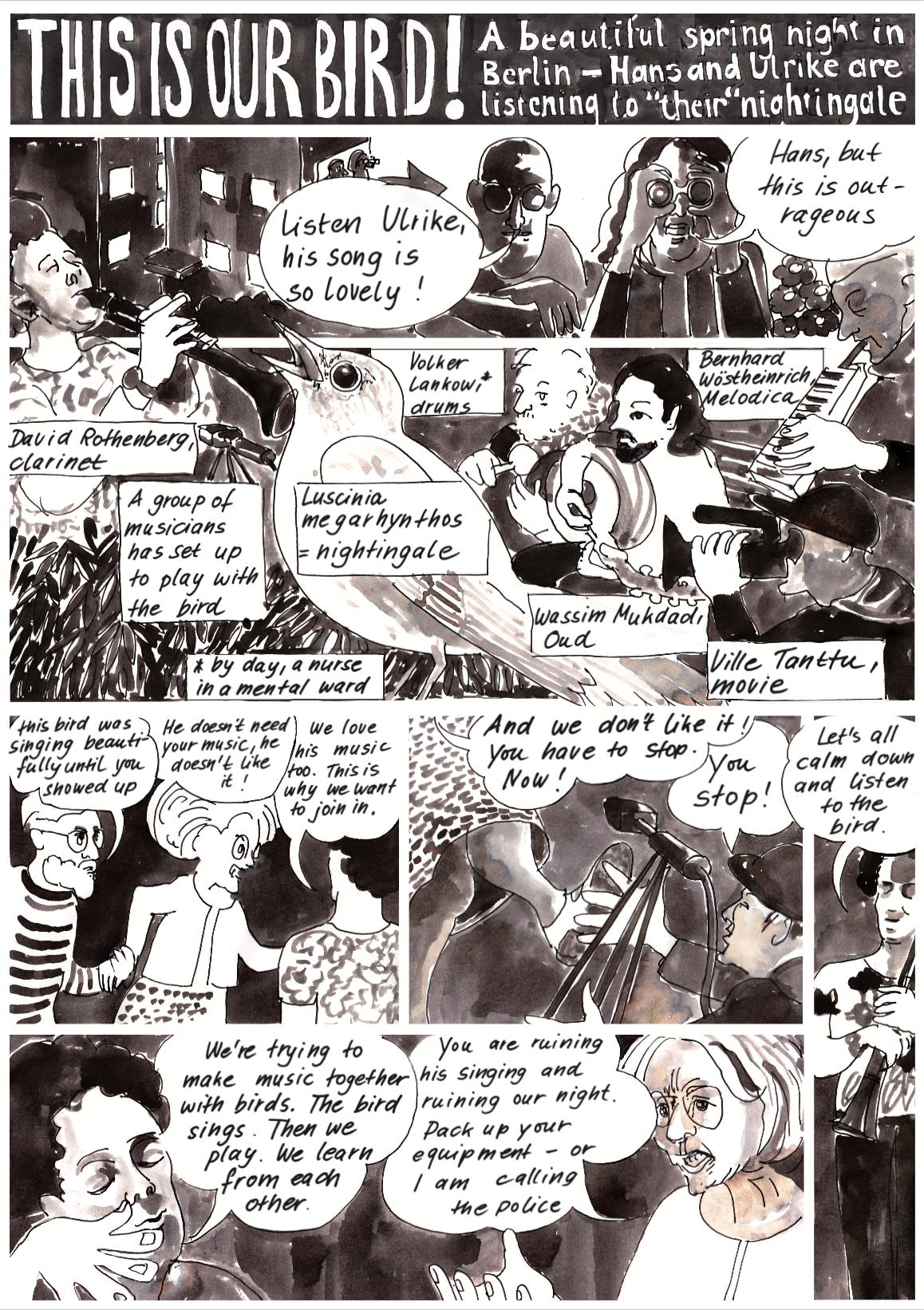 comic by Christine Kriegerowski