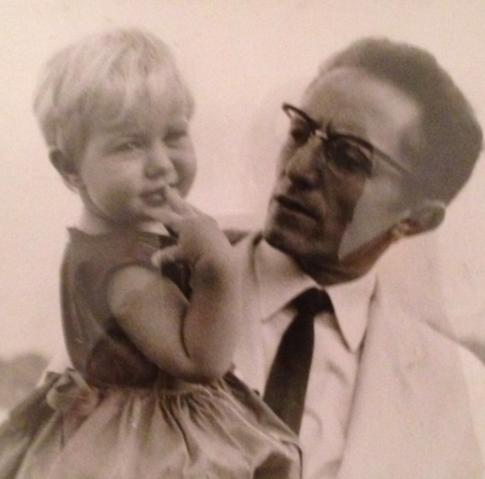gisella e il suo padre, Gaetano Macchiaroli
