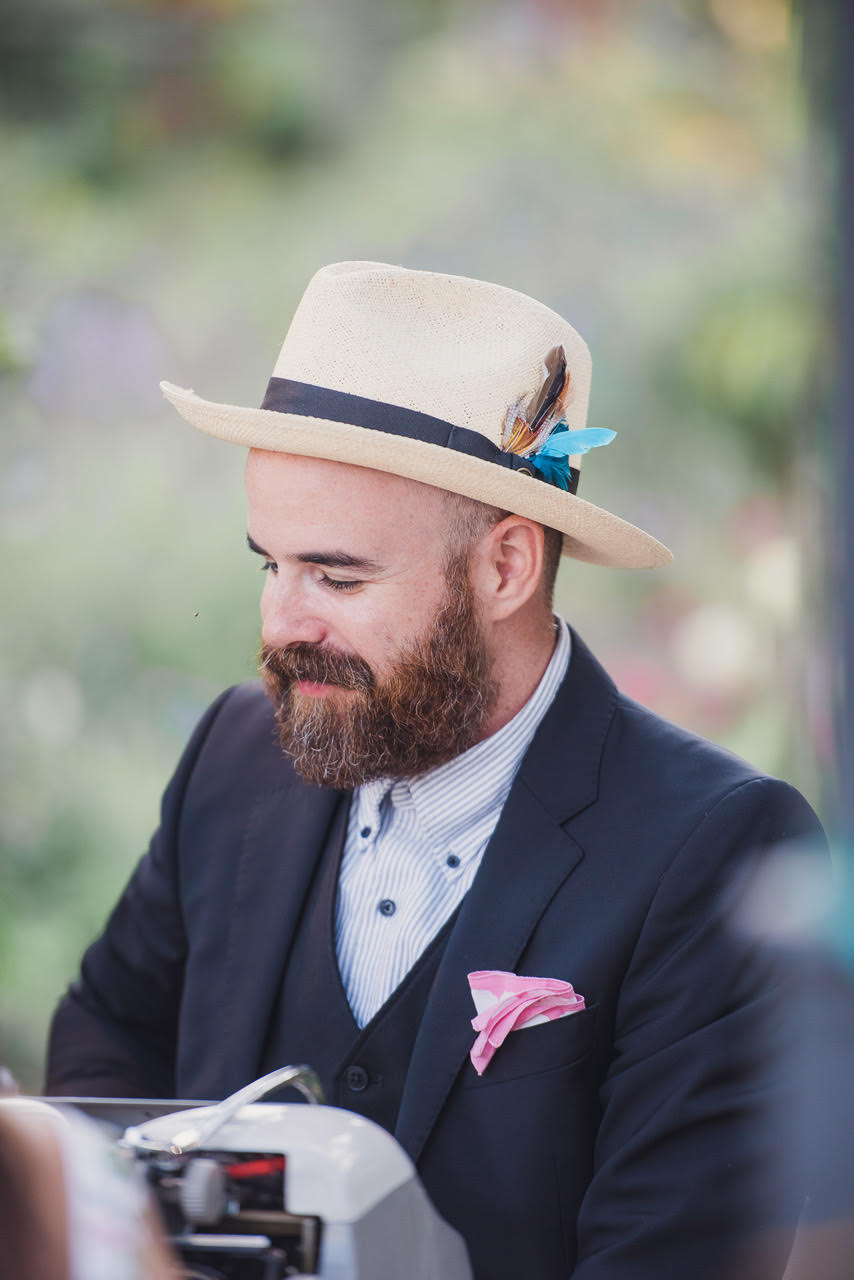 """Best Wedding Ever - """"The poets transformed my wedding into a magical experience. Our guests have told me they'll be keeping their poems for the rest of their lives."""""""