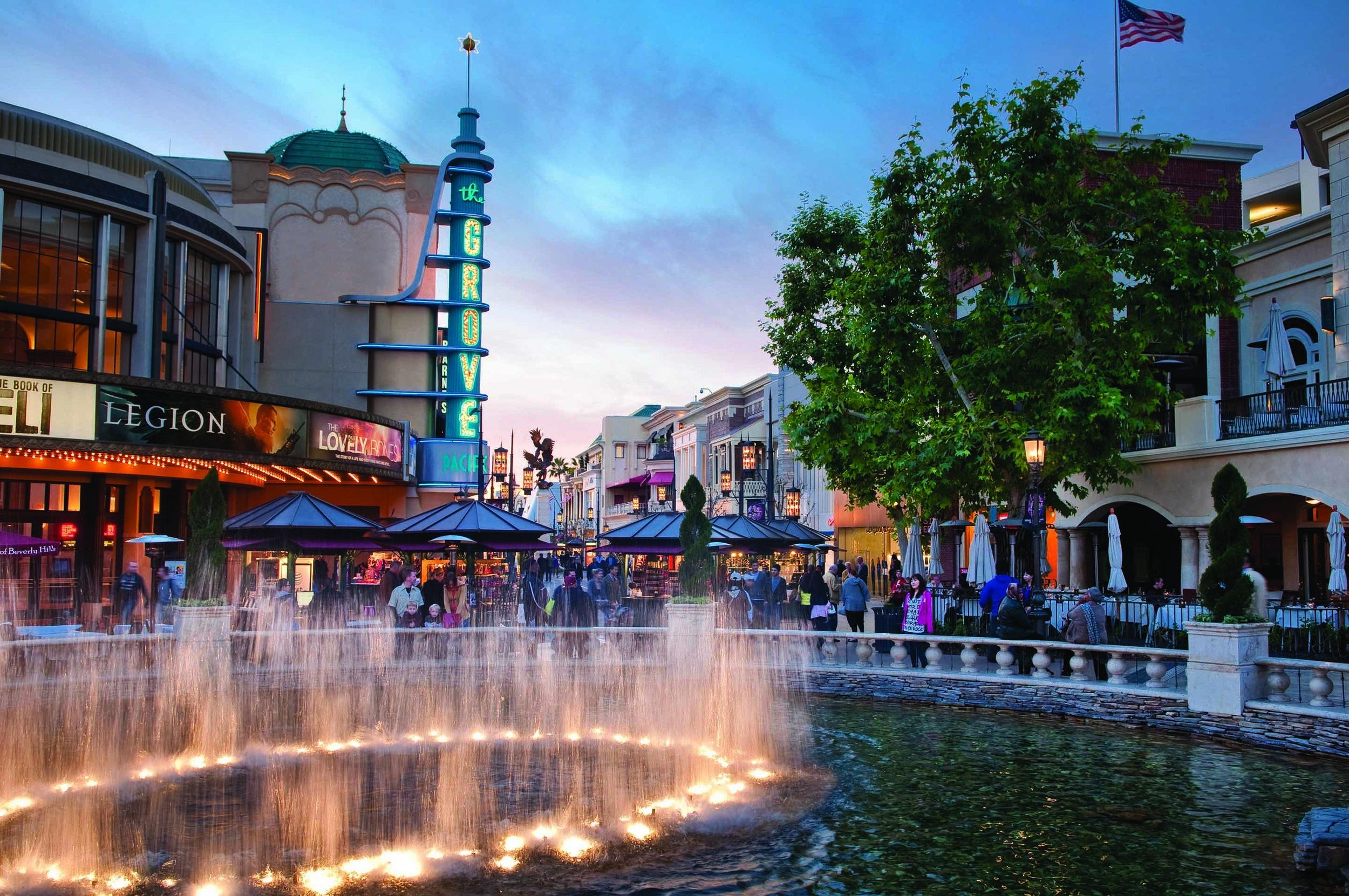 (Is everywhere in LA Disneyland?)
