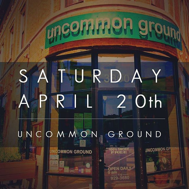 Join us at @uncommongrd this Saturday in the Listening Room with a great lineup of artists in the Songwriter Series. Reserve your table at uncommonground.com!