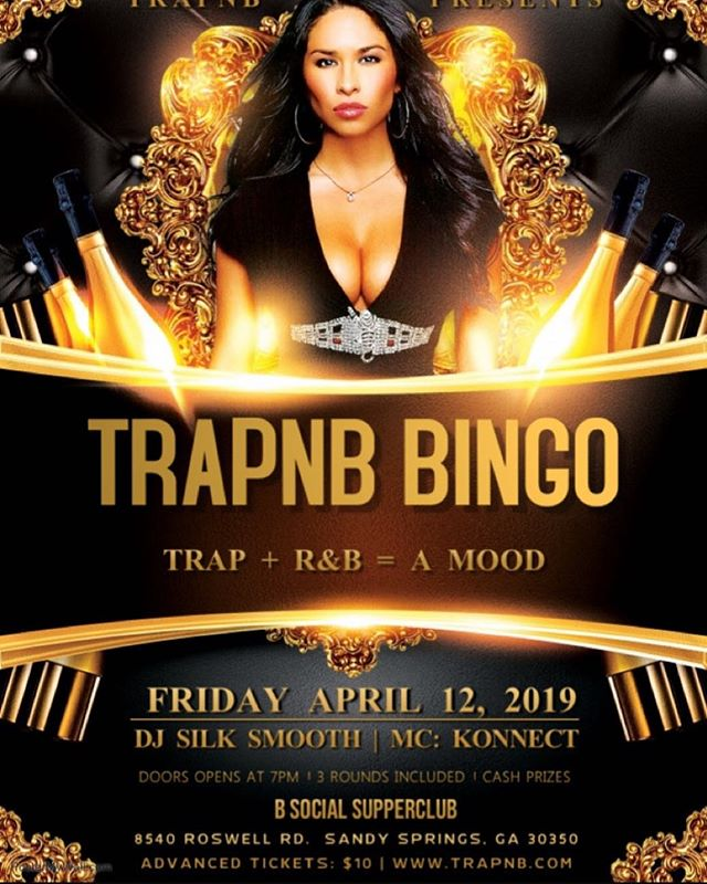 4 more days til we go up at our next Bingo! This Friday @ B Social!!