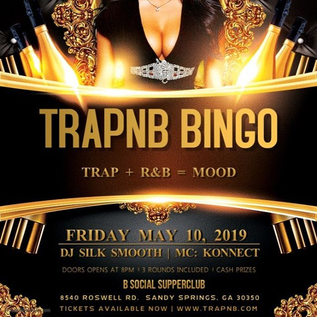 Weather is nice... but cash prizes will be nicer! May 10th meet us at the spot for some more TrapnB Bingo