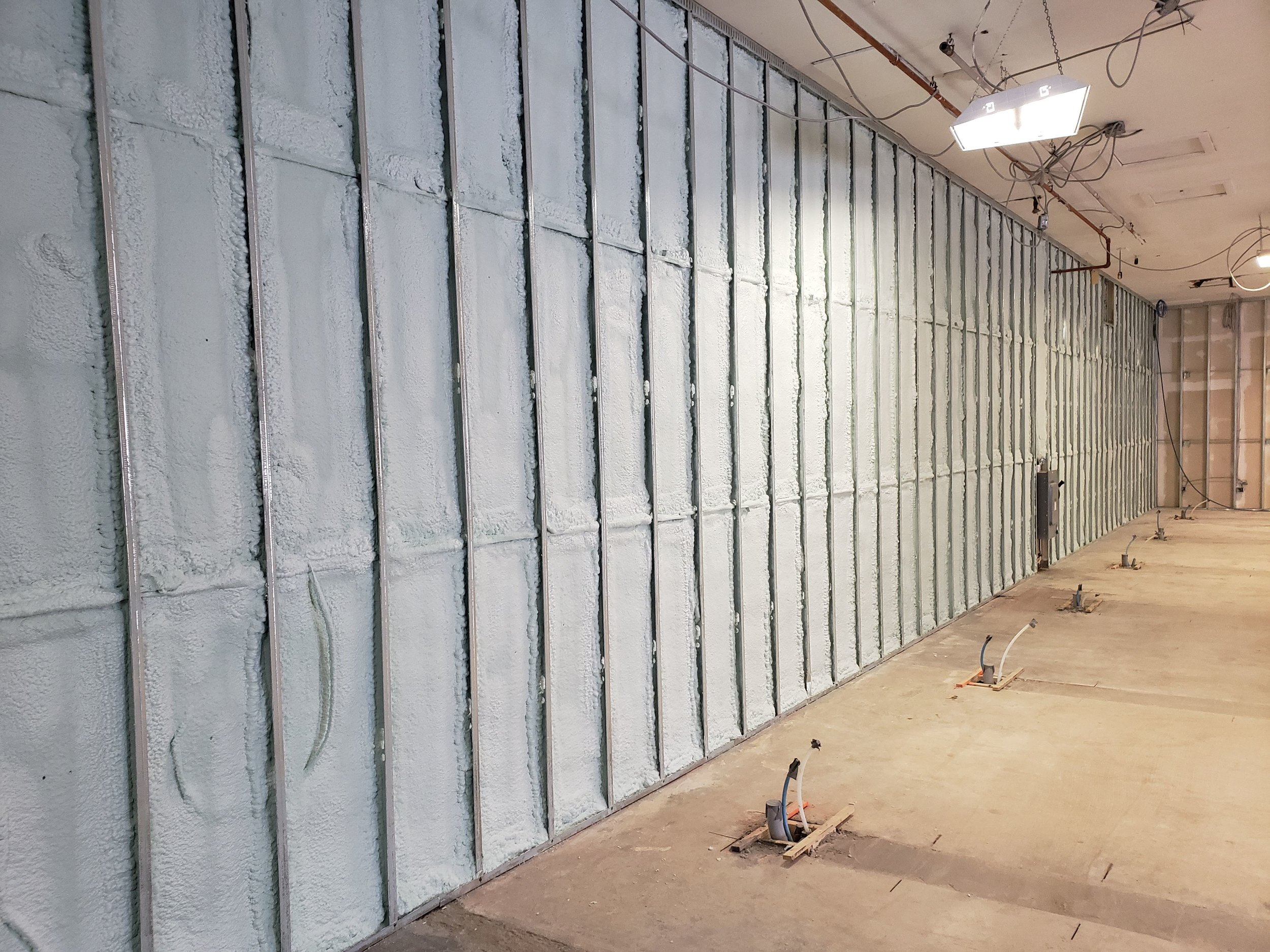 Walls all sealed up