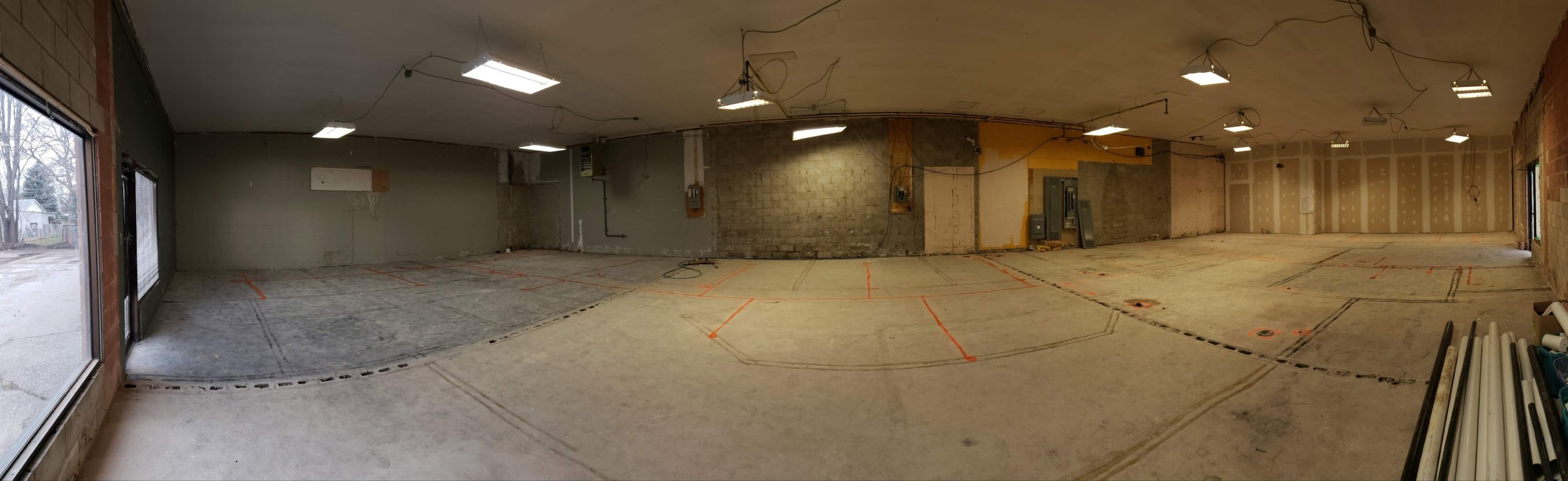A clean slate ready to build!