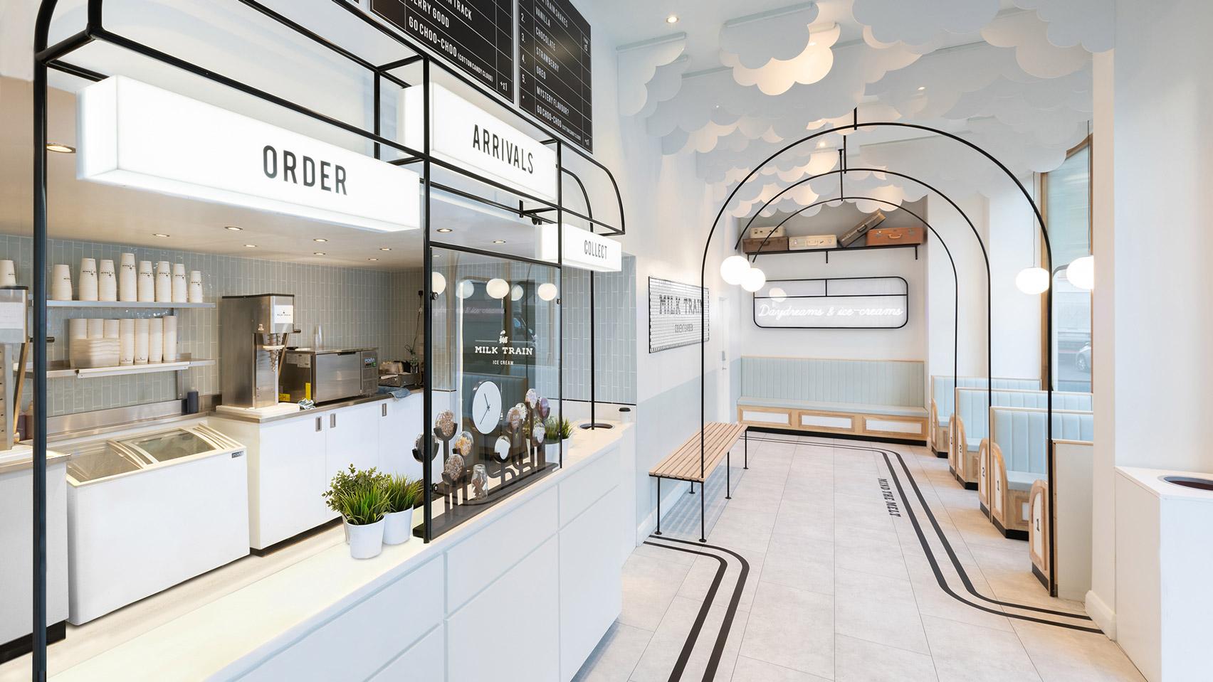 cool ice cream shop design