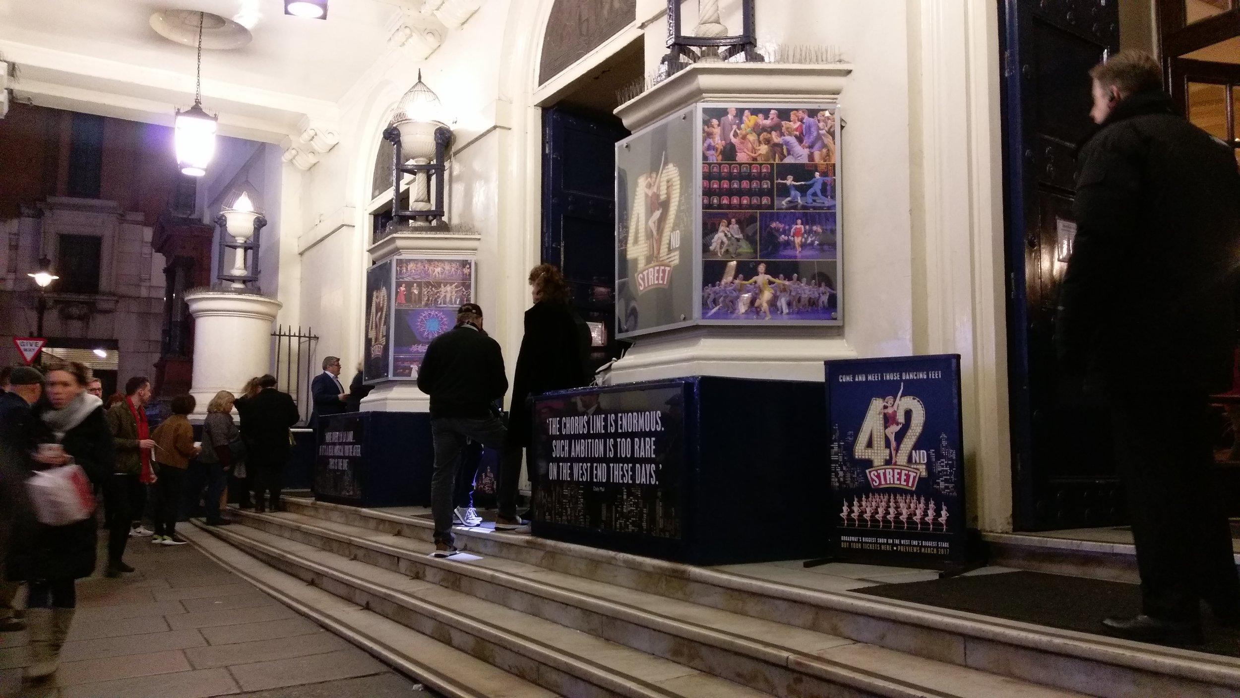 Theatre Royal Drury Lane - visited 02/01/2019