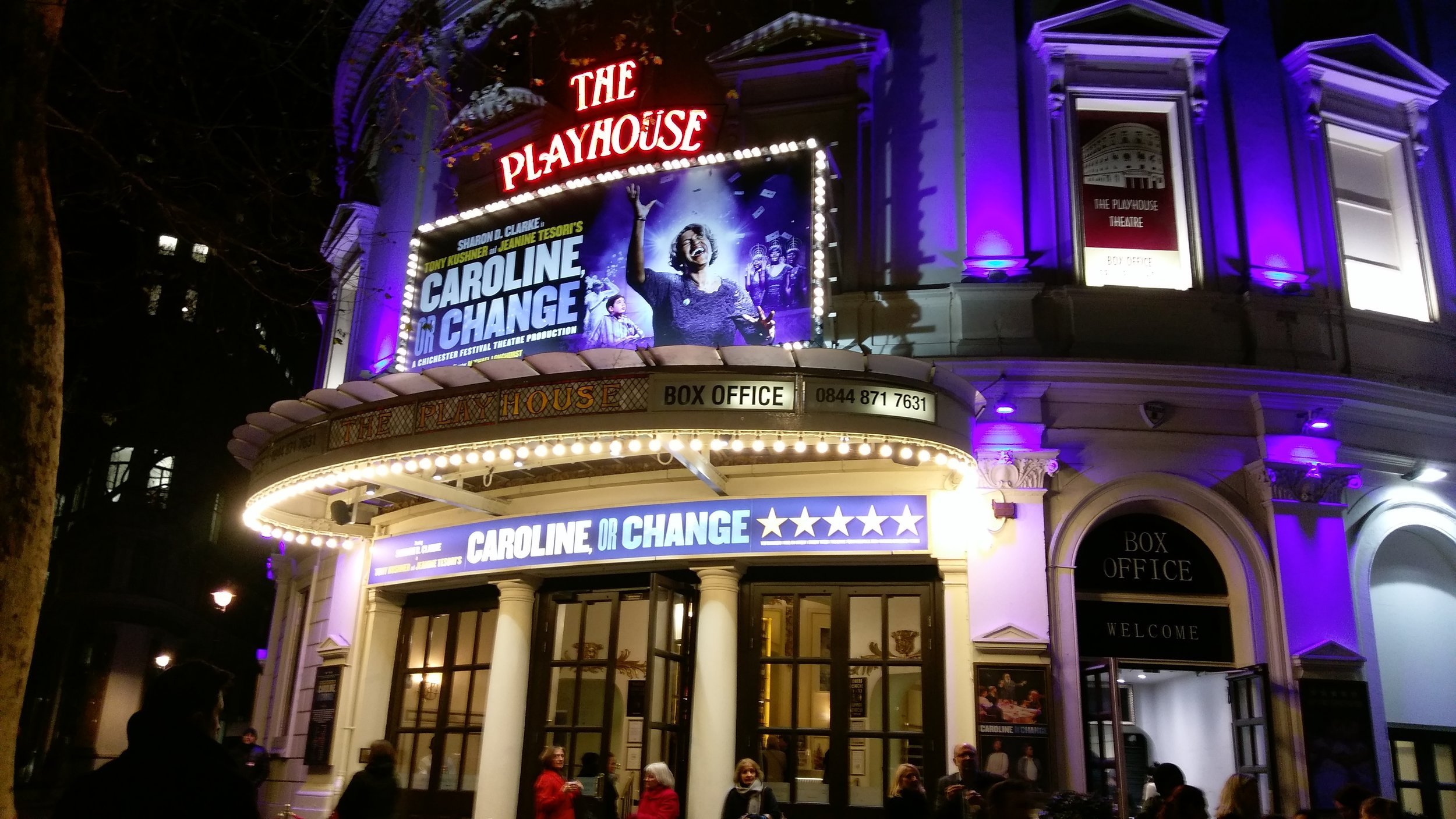Playhouse Theatre - visited 09/01/2019