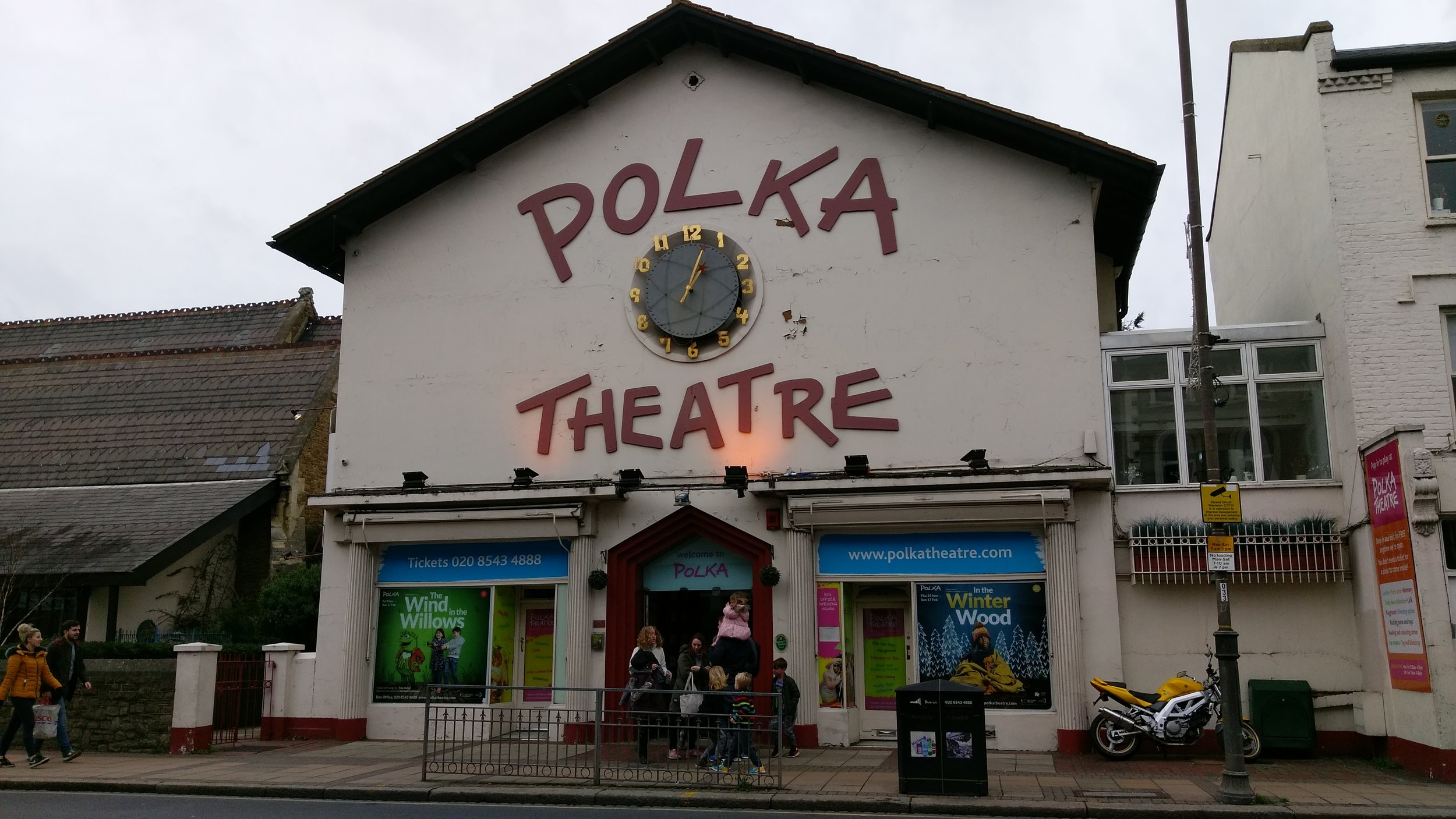 Polka Theatre - visited 12/01/2019