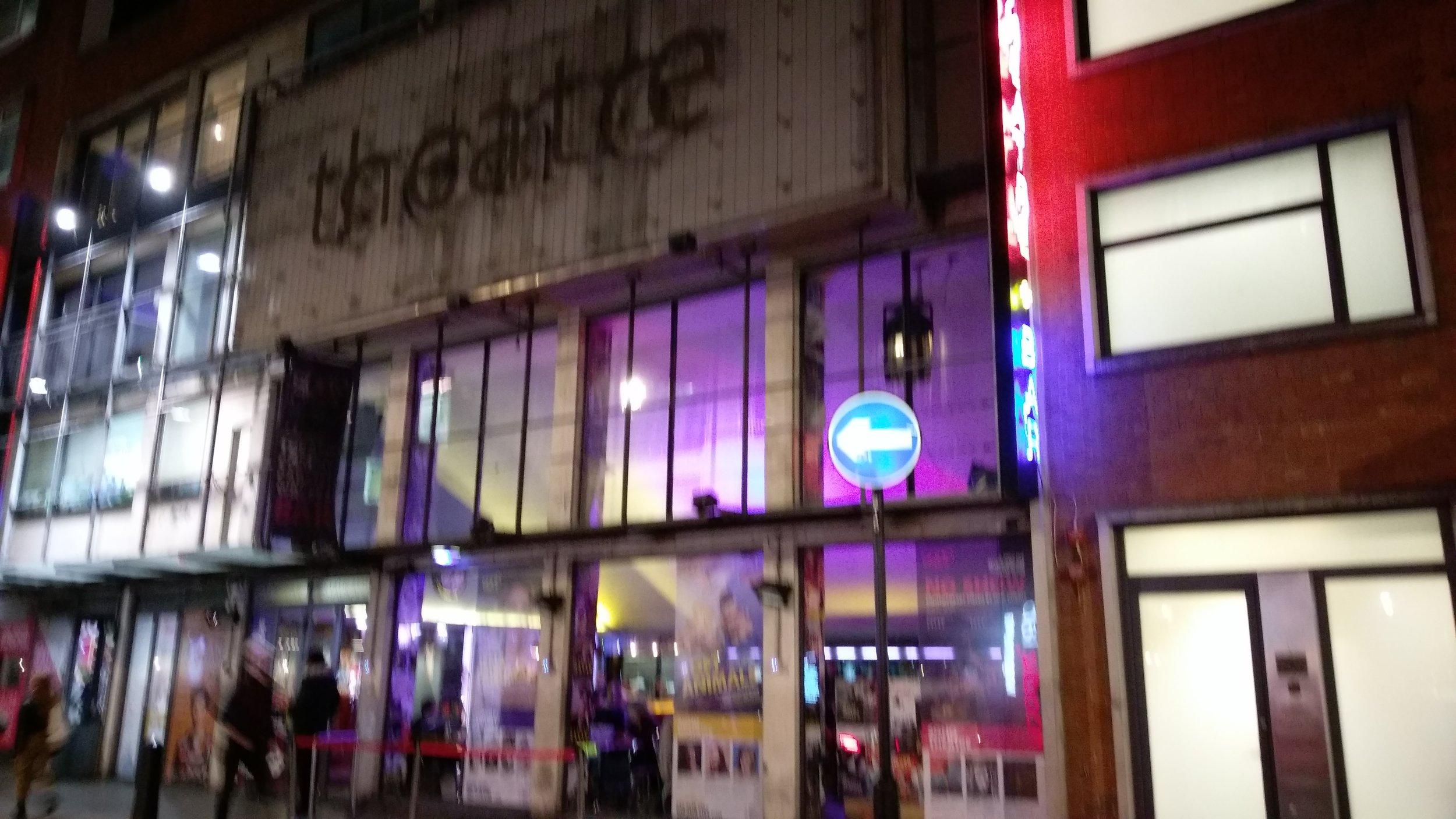 Soho Theatre(Soho Upstairs) - visited 21/01/2019