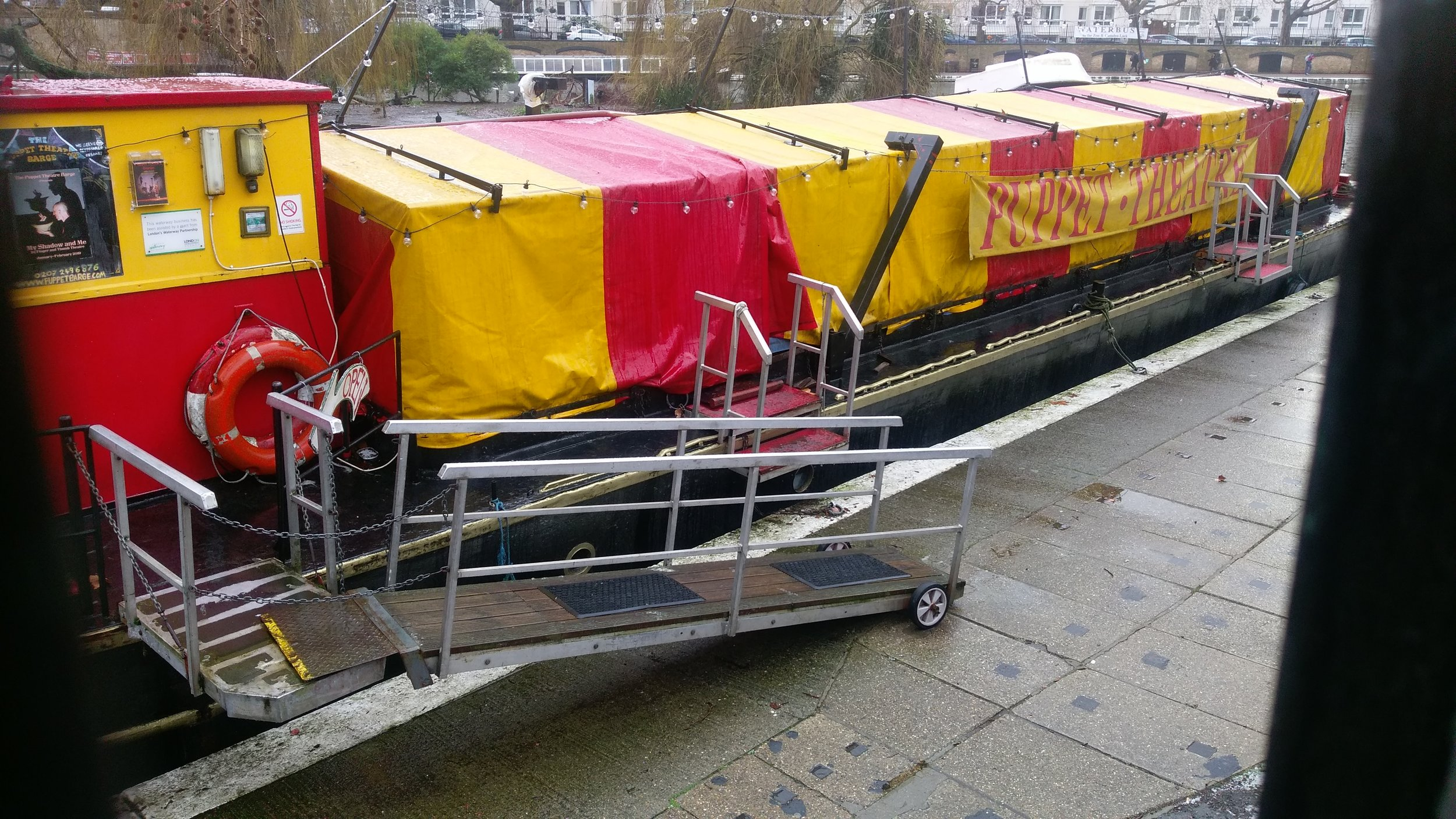 Puppet Theatre Barge - visited 28/01/2019