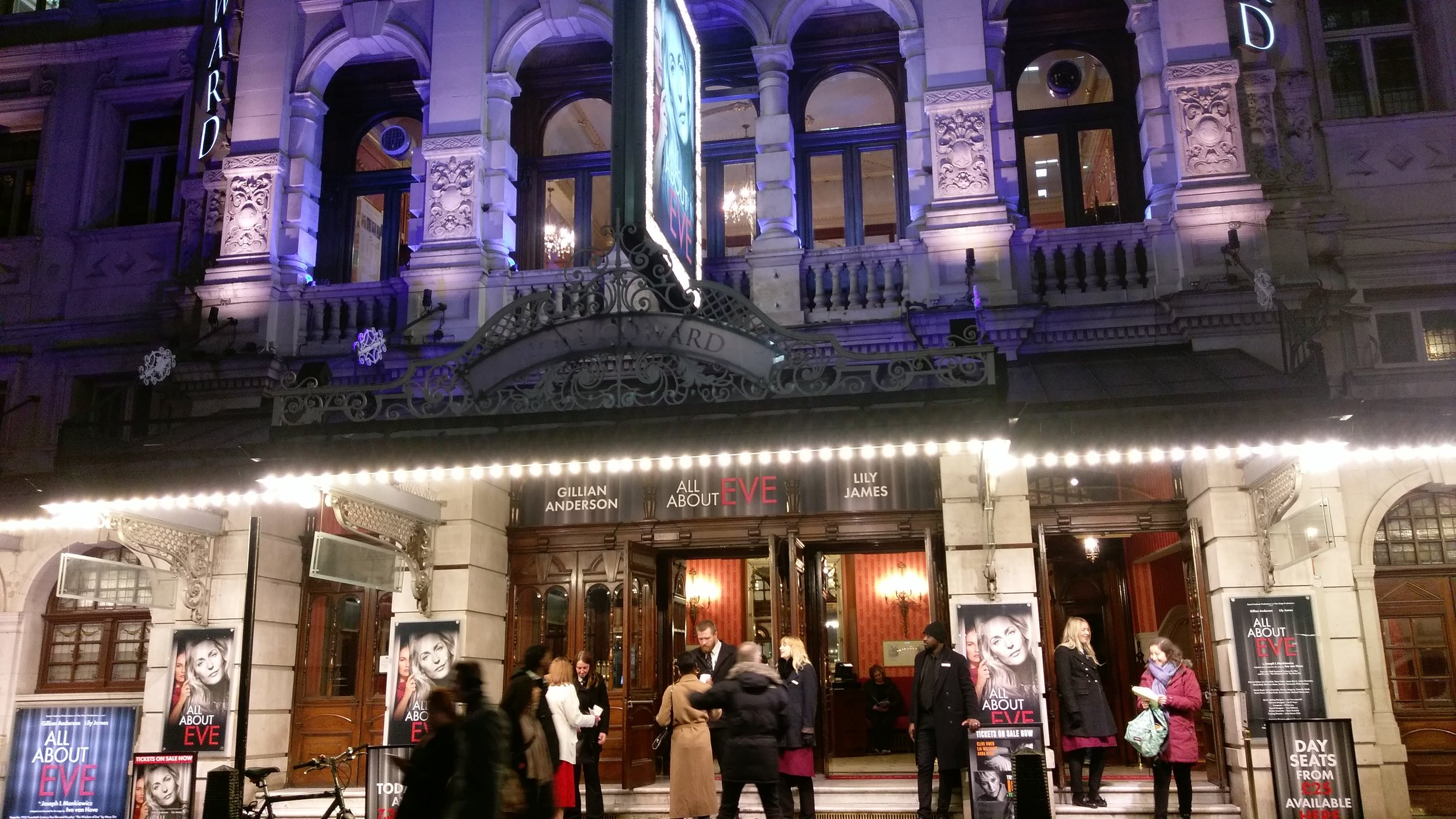 Noel Coward Theatre - visited 13/02/2019