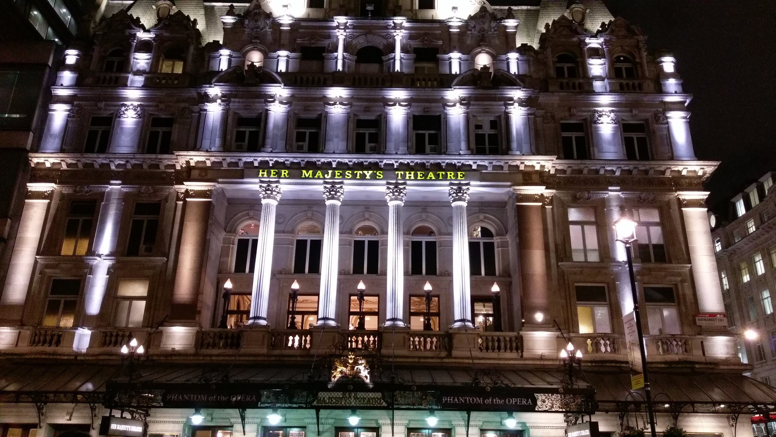 Her Majesty's Theatre - visited 11/02/2019